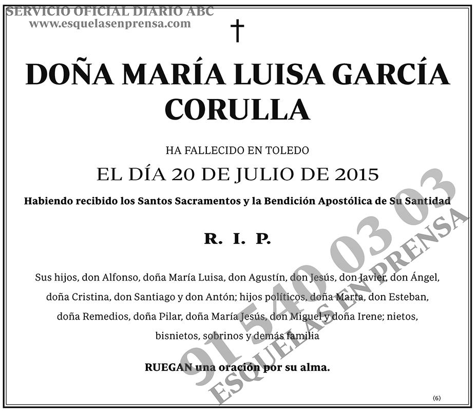 María Luisa García Corulla